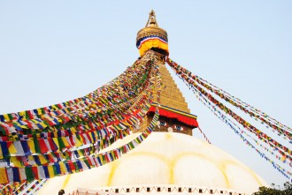 stuppa de Bodnath - Népal