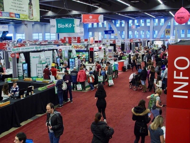 Expo manger santé et vivre vert - Red Lips Talk