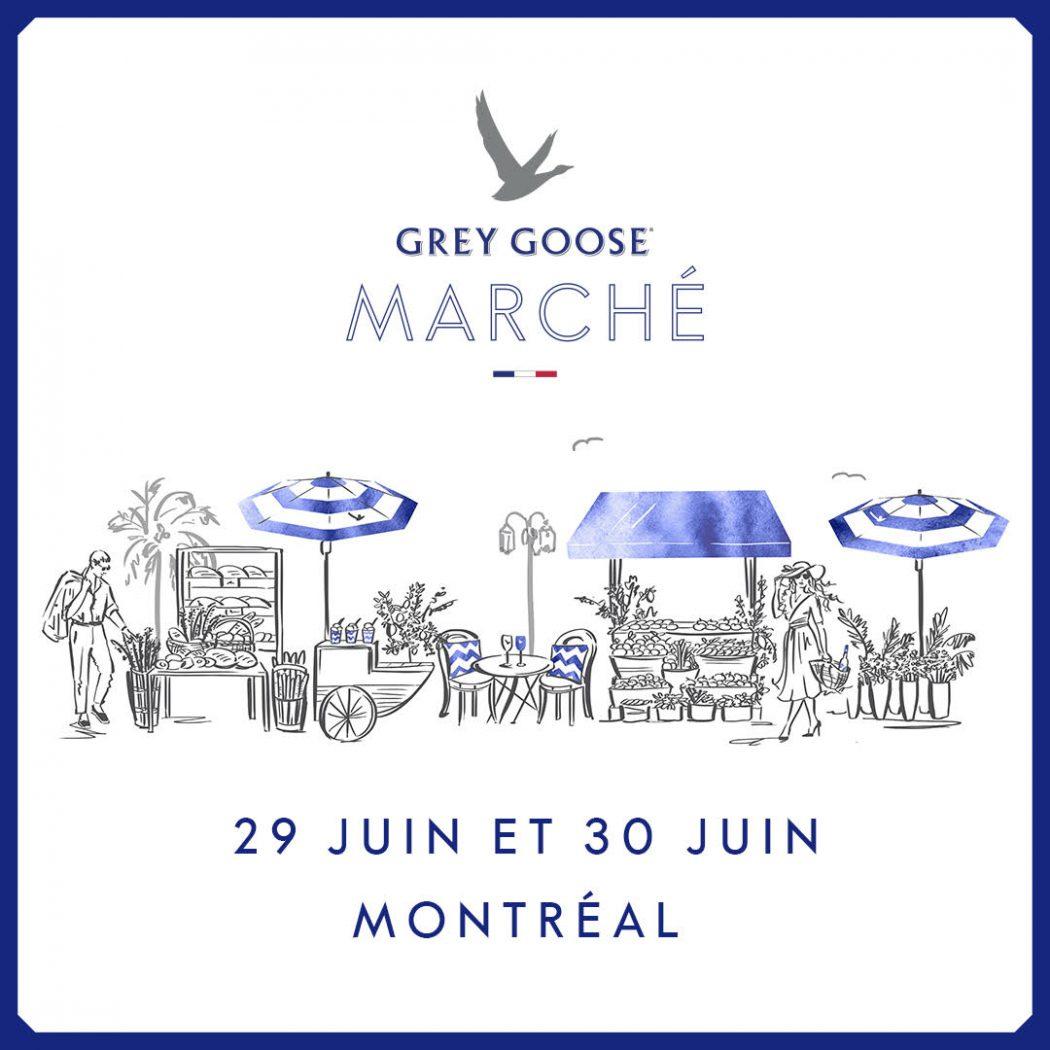 marché éphémère Grey Goose