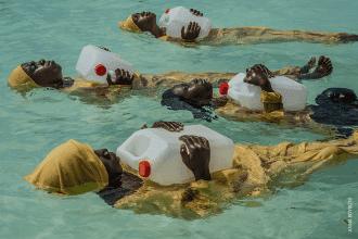 World Press Photo 2018 Liberté retrouvée dans l'eau © Anna Boyiazis