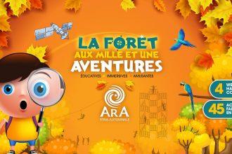 ARA Féria Automnale est un parc d'attractions extérieur ouvert du 29 septembre à 21 octobre à Saint-Calixte