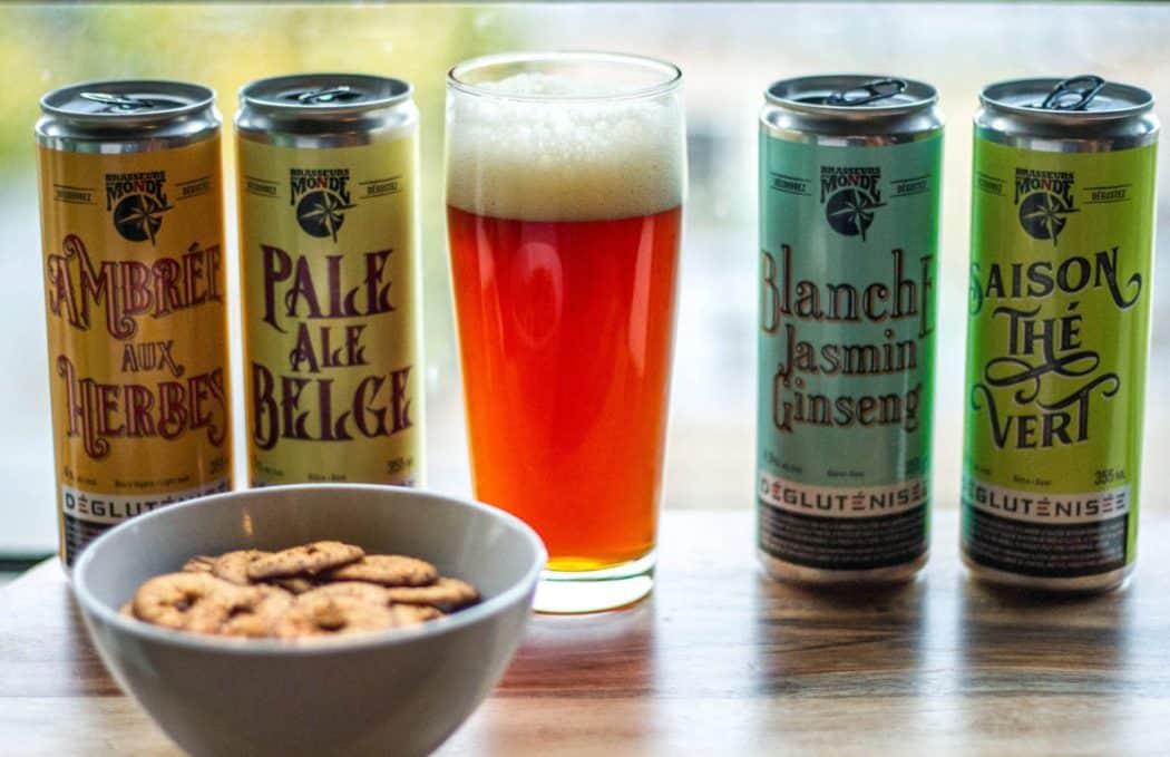 bières dégluténisées - Brasseurs du Monde