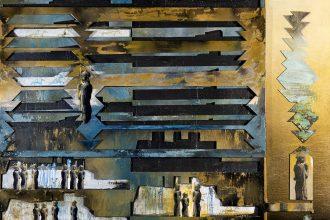 Oeuvre issue de L'Art de se recréer par Marie-Denise Douyon