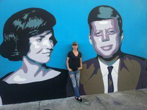 Murale dans le quartier de Wynwood à Miami par Elisabetta Fantone