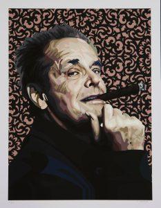Jack Nicholson par Elisabetta Fantone