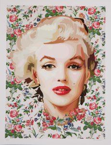 Marilyn Monroe par Elisabetta Fantone