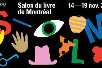 Bannière Salon du livre de Montréal 2018