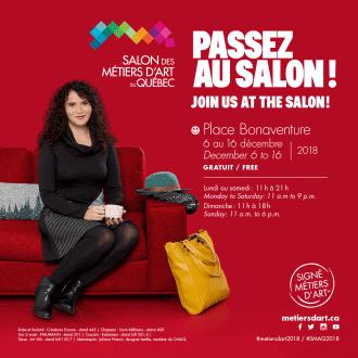 Visuel Salon des métiers d'art du Québec 2018