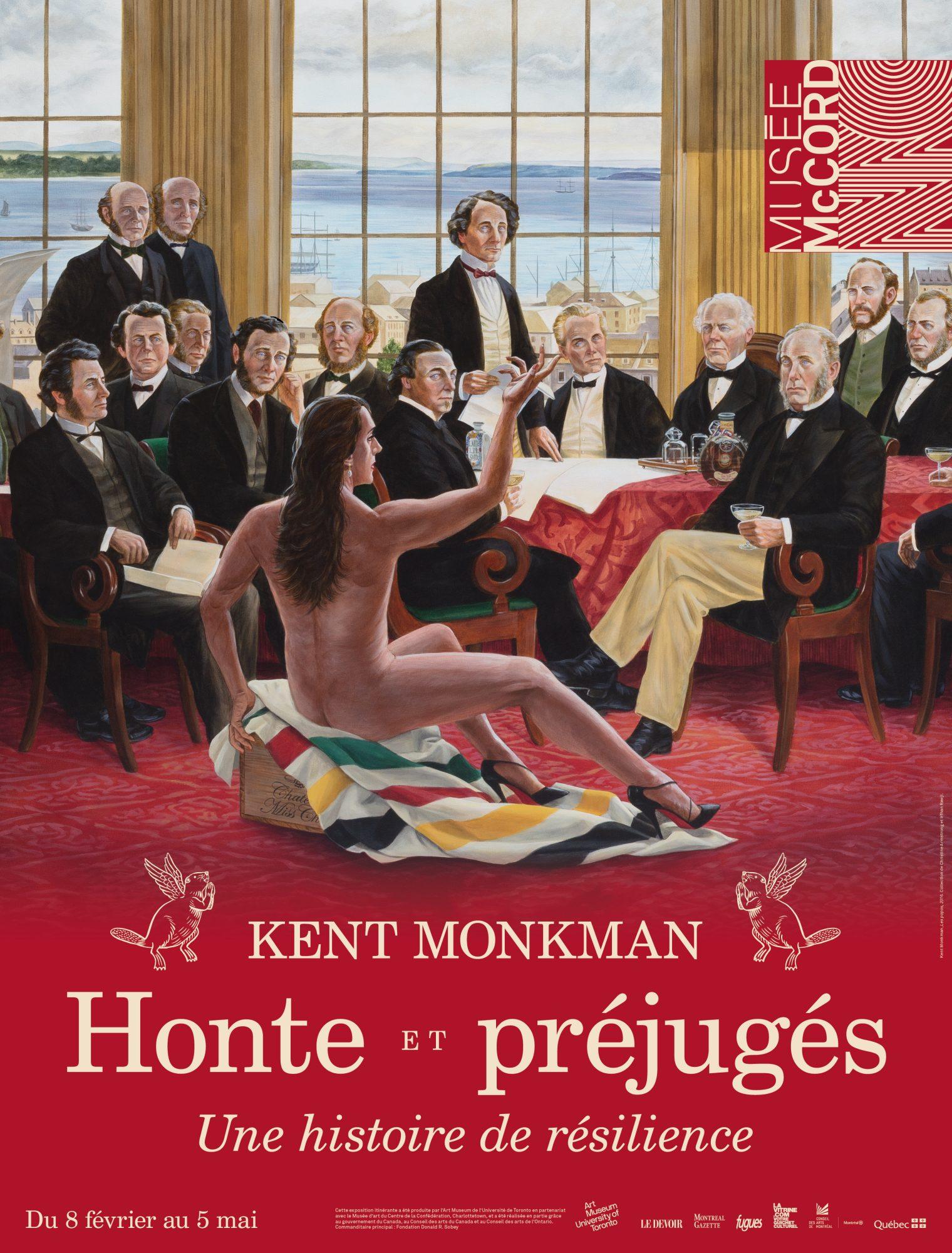 Affiche Musée McCord exposition Kent Monkman Honte et préjugés