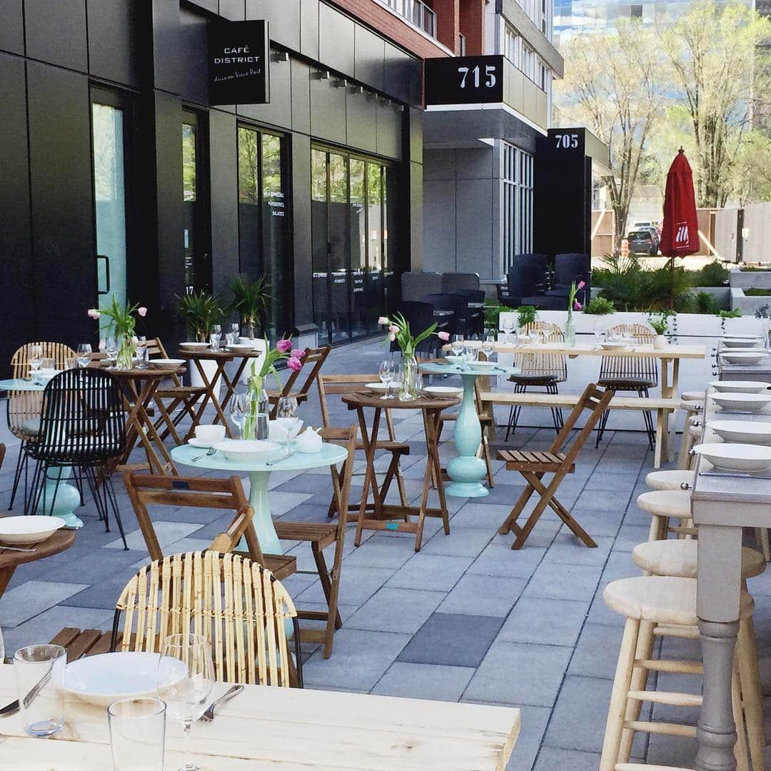 Restaurant Mélisse - Terrasses au Vieux-Montréal