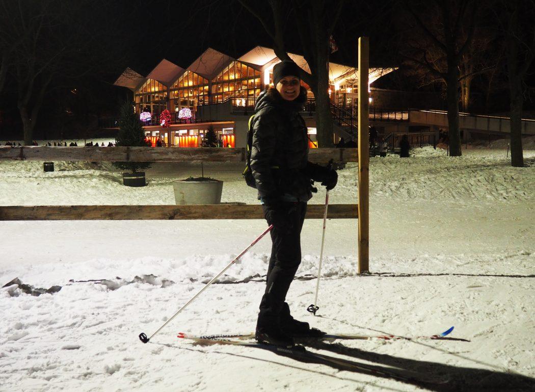 cours de ski de fond à Montréal