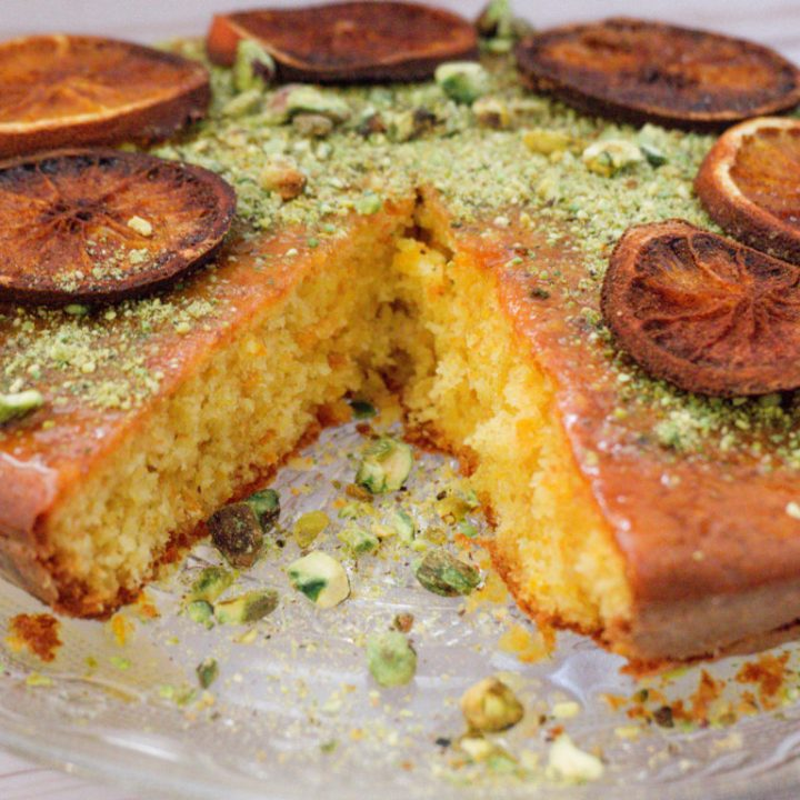 recette tunisienne - gâteau à l'orange
