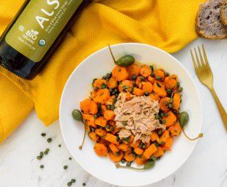 Salade tunisienne de carottes épicées