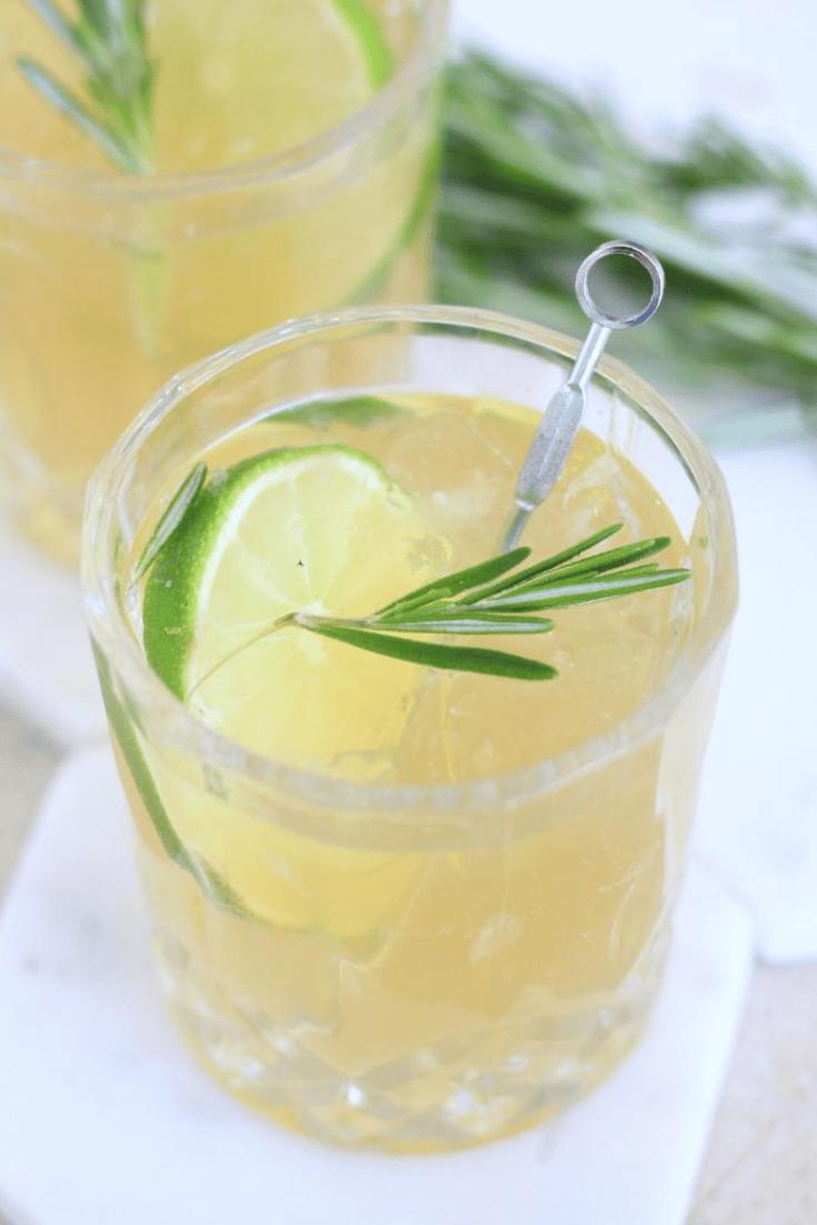 Maté Tonus cocktail - Maté Libre