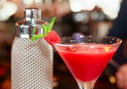 Martini à la sambuca Racines